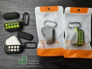 Hộp tai nghe Airpod Pro NIKE chấm bi